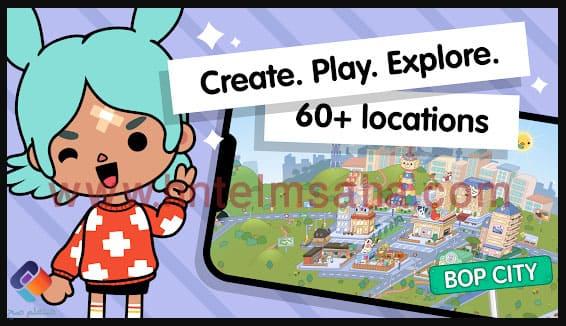 تحميل لعبة توكا بوكا toca boca للكمبيوتر من ميديا فاير