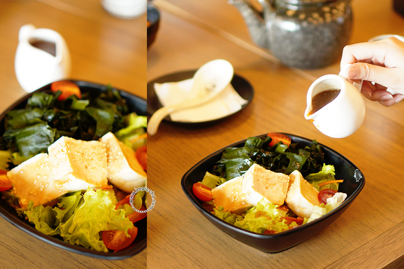 Tofu Waakame Salad (Japanese) IDR 48.000