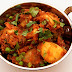 Potato and cauliflower curry (aloo ghobi)