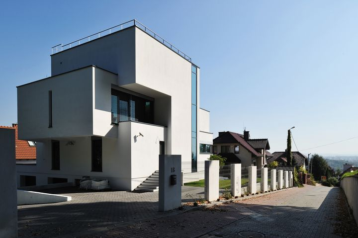 Modern Design GM1 House by architecture firm GM Arquitectos