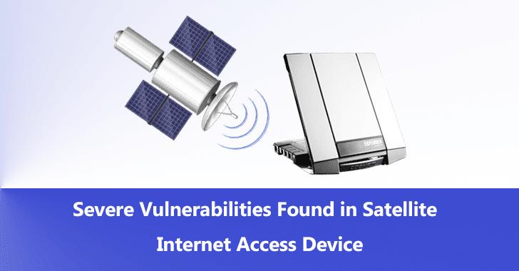 Multiple Vulnerabilities Found in Satellite Internet Access Terminal Let Hackers Intercept the GPS Traffic