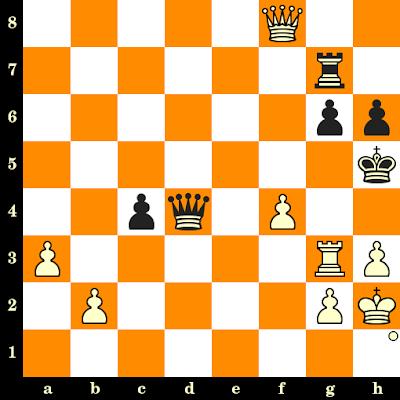 Les Blancs jouent et matent en 3 coups - Anatoly Bannik vs Iskir Kurass, Kiev, 1963