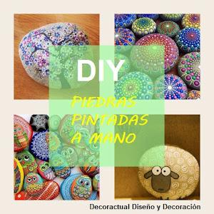 DIY piedras pintadas a mano
