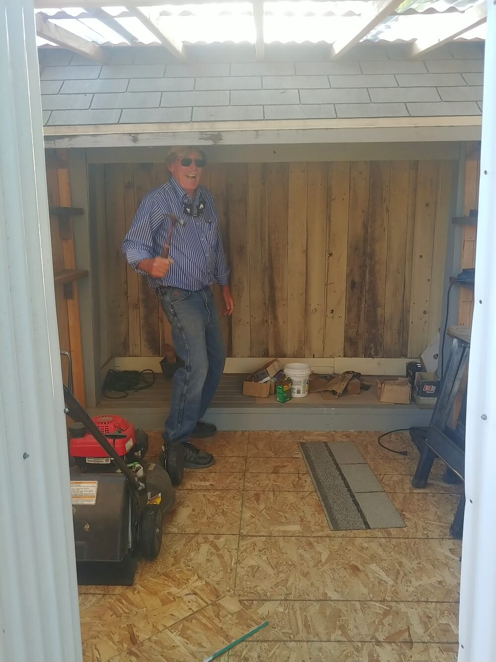 New Backyard Shed