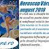 Horoscop Vărsător august 2018