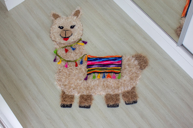 Receita Tapete de Crochê Lhama