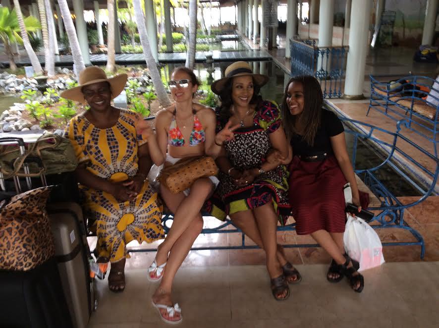 Bianca Ojukwu On Vacation In Cuba