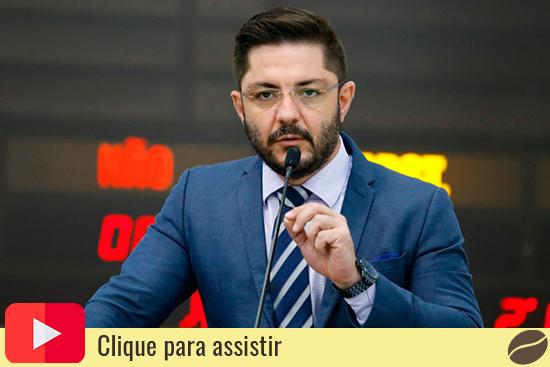 Vereador de Maringá Flávio Mantovani. Café com Jornalista