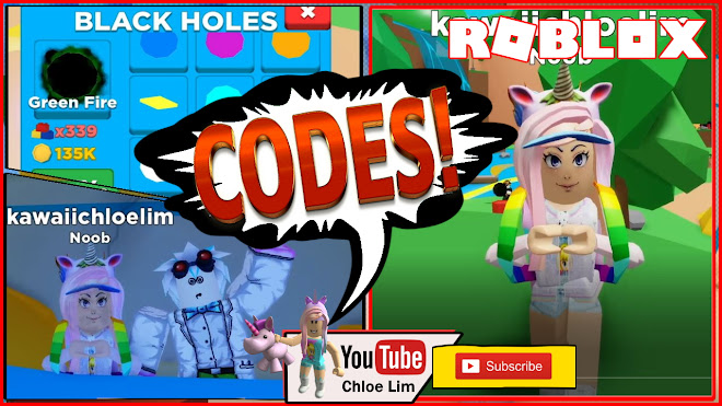 Roblox Black Hole Simulator Gameplay! 4 Codes! Sucking up everything in the World!