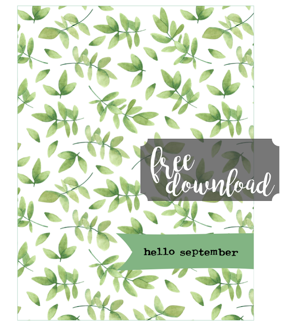 #hello September #September #Printable #card #journaling card #instant download #project card