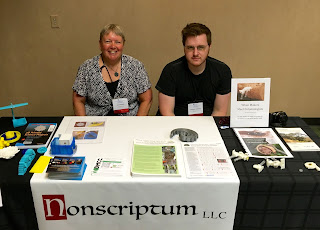 Joan and Rich at conference