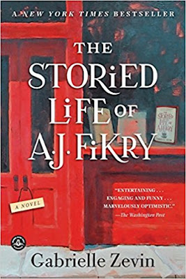 The Storied Life of A. J. Fikry by Gabrielle Zevin (Book cover)
