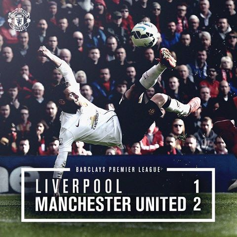 Liverpool vs Manchester United 1-2