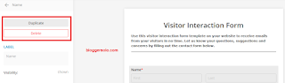 cara membuat contact form untuk blog