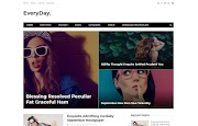 (Free)(Premium) Everyday Blogger Template Themes