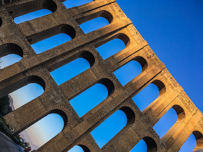Vanvitelli Caroline Aqueduct in Campania Region Southern Italy