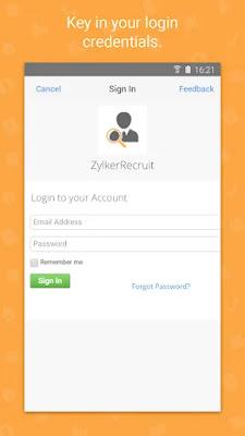 Screenshot Zoho CRM Platform - Apcoid