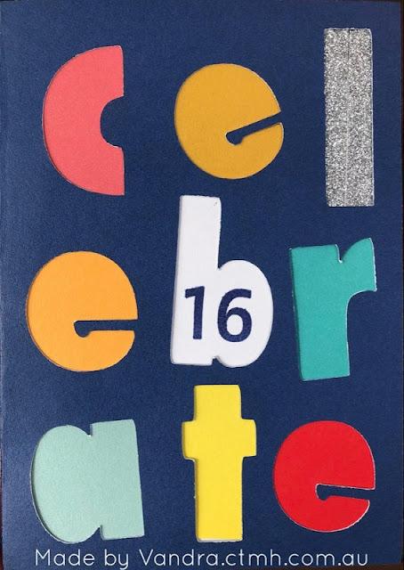 #CTMHVandra, celebrate, Birthday, happy birthday, Colour Dare Challenge, color dare, cricut, Artfully sent, TicTacToe, #ctmhHappiestPlace,