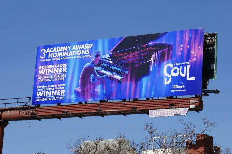 Soul Oscar nominee billboard