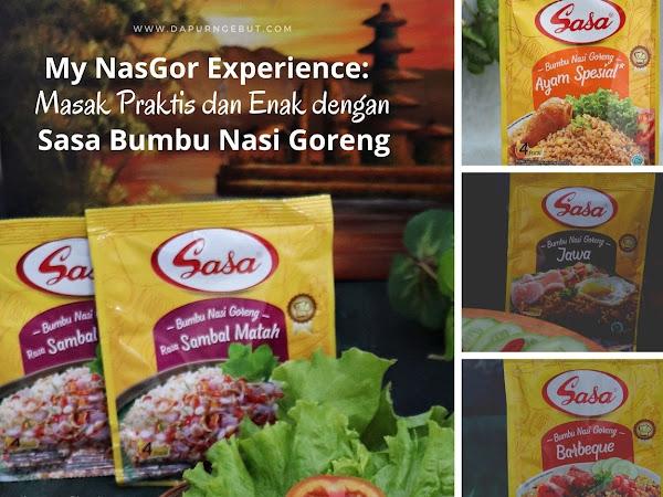 My NasGor Experience:  Masak Praktis dan Enak dengan Sasa Bumbu Nasi Goreng