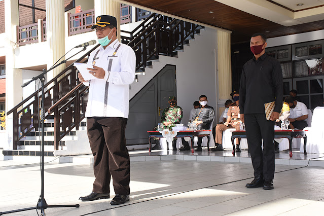 Ansar Daaly Pimpin Apel Kesiapsiagaan Tanggap Bencana Badai La Nina.lelemuku.com.jpg
