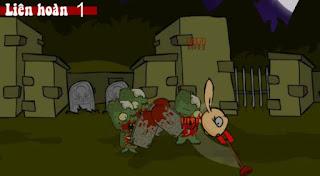 Game zombie đại chiến kinh dị