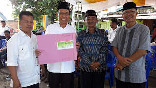 Open House Balon H Ismail Ramai Pendukung