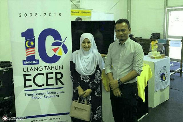 Wan Norshiha Wan Embong, Shinora Food, Ekspo Terengganu 2018, ECERDC, Khir Khalid,