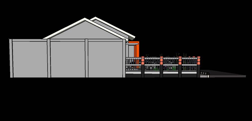 Gambar rumah modern 3 trap gaya minimalis