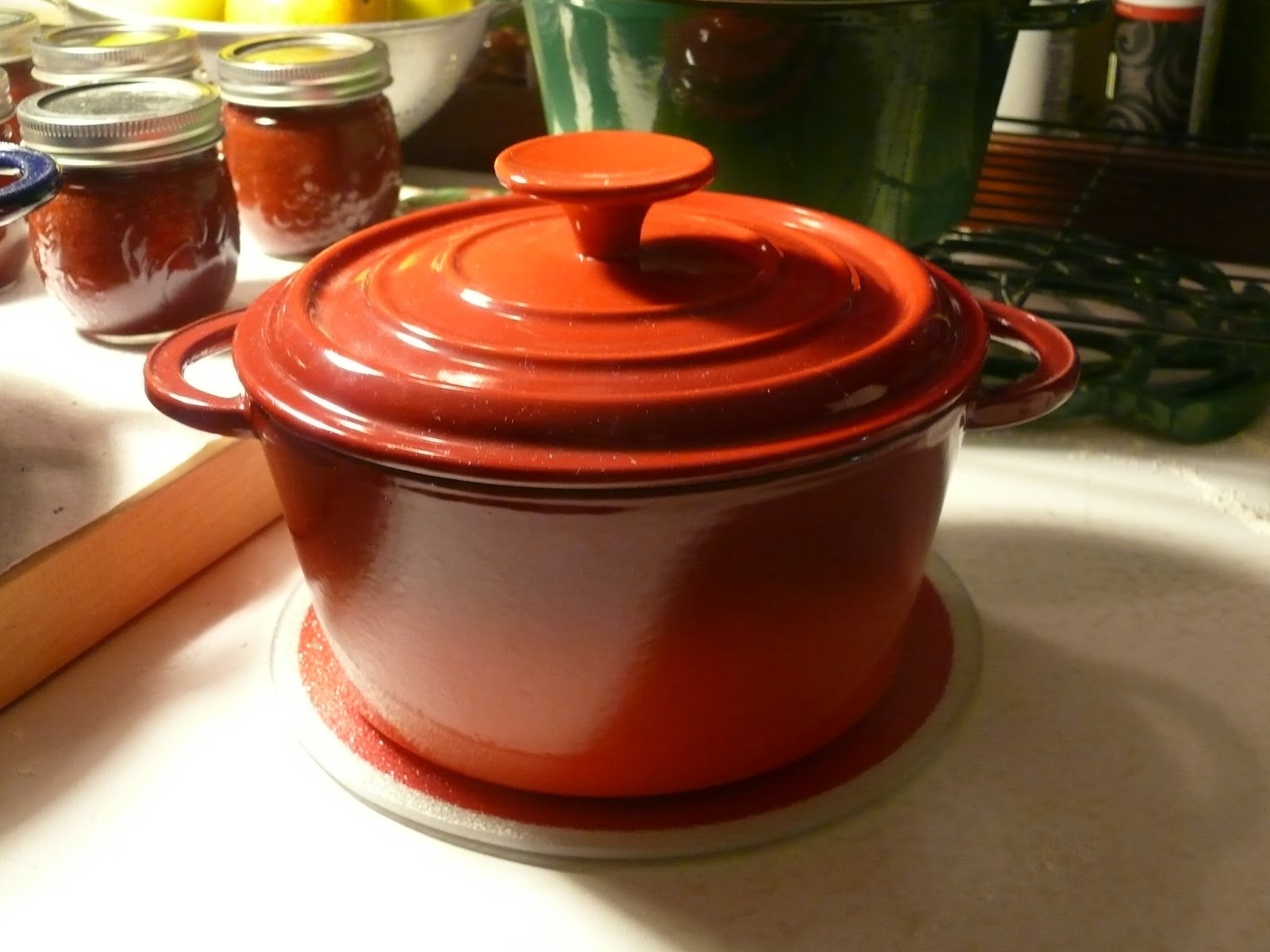 basix by staub enameled cast iron cookware. Black Bedroom Furniture Sets. Home Design Ideas