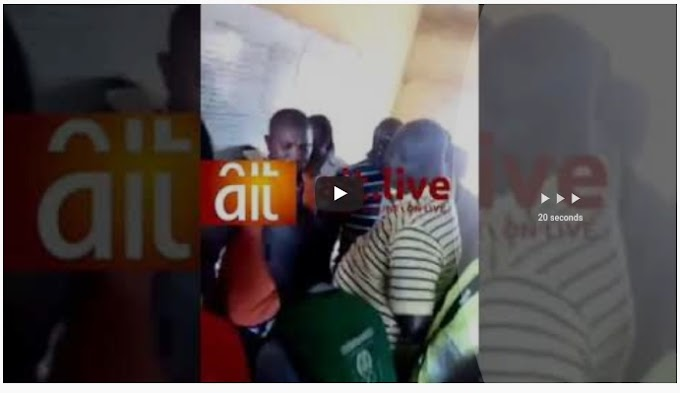 Breaking:  Staff Take Cash From APC, Claim They Have Not Been Paid – (Video)