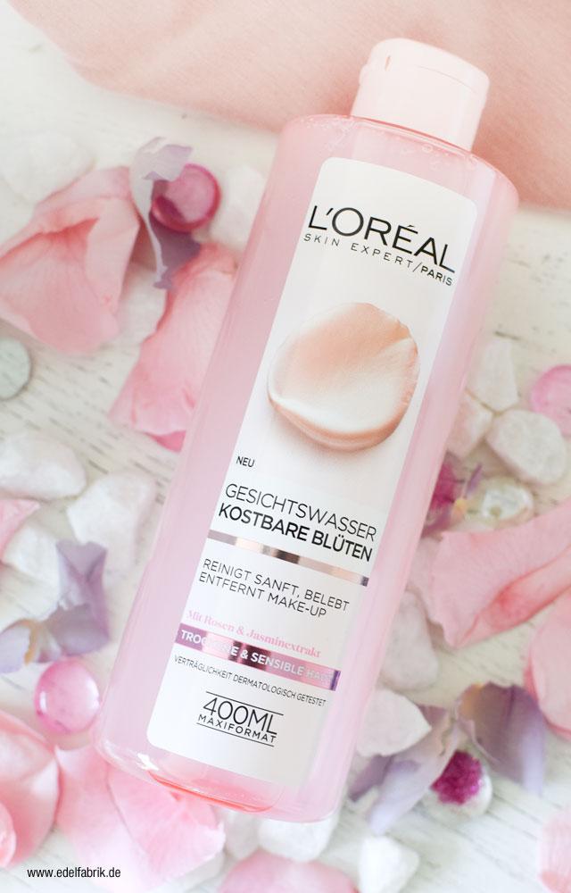 L'Oréal Kostbare Blüten Gesichtswasser Test