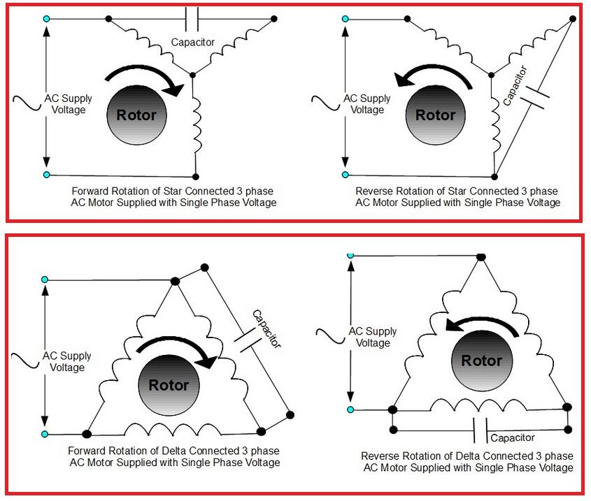 single phase motor forward reverse diagram full hd version