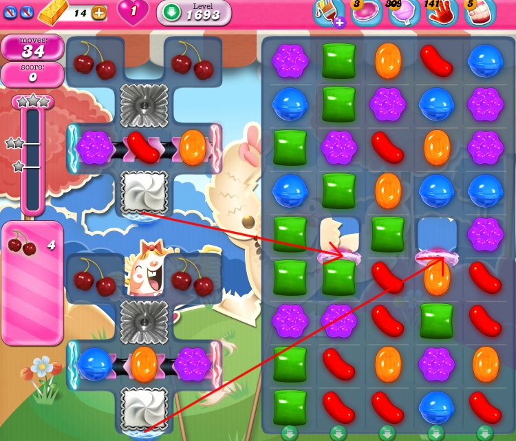 Candy Crush Saga 1693