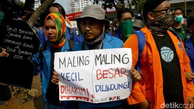 Semoga Gerindra Mau Dukung Mahasiswa Desak Jokowi Terbitkan Perppu KPK