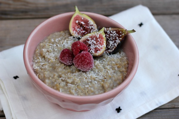 Breakfast Meal Prep, Steel Cut Oats