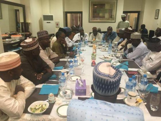 Photos: Kaduna gov, Nasir El-Rufai, host christian leaders in th state to Ramadan dinner