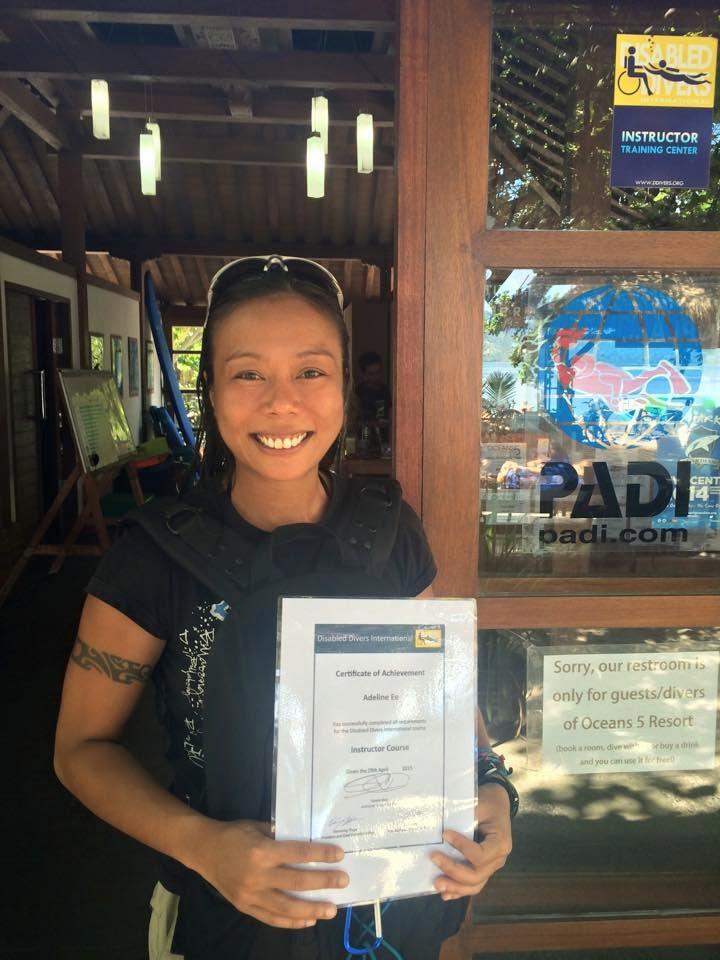 PADI IDC Gili Islands Indonesia, PADI Scuba Instructor Course