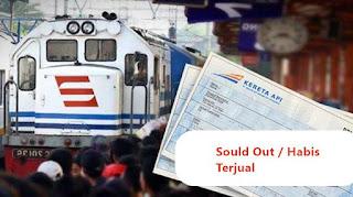 solusi dan cara mencegah kehabisan tiket kereta api saat mudik lebaran