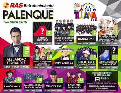 feria tijuana 2916 palenque y teatro del pueblo
