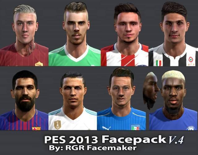 New Facepack PES 2013