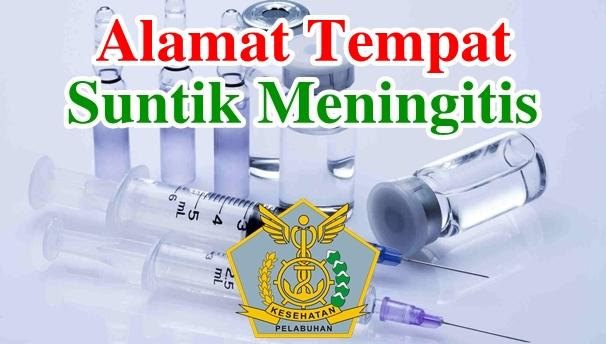 Alamat Tempat Suntik Vaksin Meningitis di Indonesia