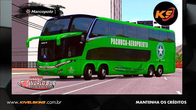 PARADISO G7 1800 DD 8X2 - VIAÇÃO PACHUCA-AEROPUERTO (MÉXICO)
