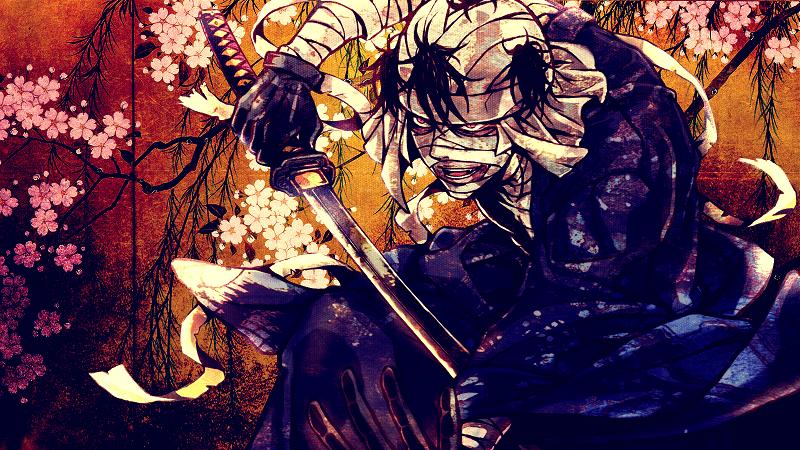 Shishio punya luka bakar hebat di sekujur tubuhnya