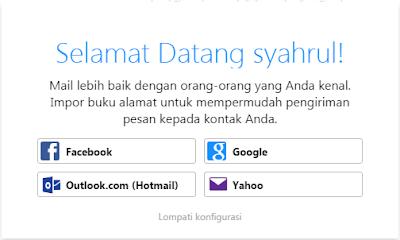 cara buat email baru di Yahoo Mail