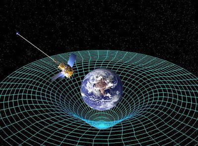 التصوير الفلكي  يثبت نظرية آينشتاين في كون الجاذبية ناتجة عن تشويه الأجسام الفلكية لنسيج الزمكان