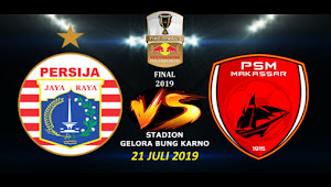 Tiket Online Persija vs PSM Makassar di Final Piala Indonesia Leg Pertama