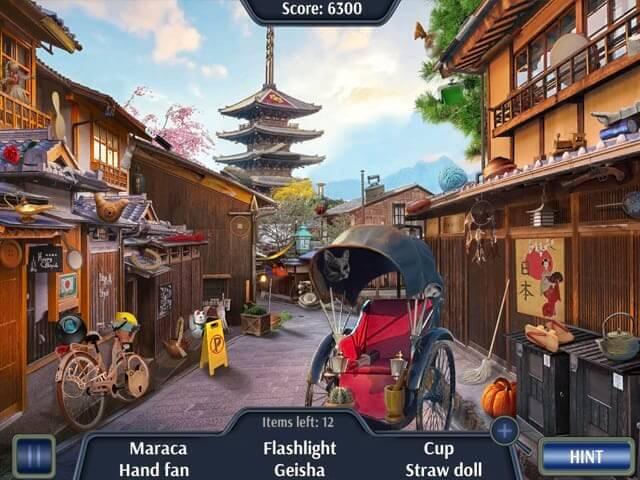 لعبة السفر الي اليابان