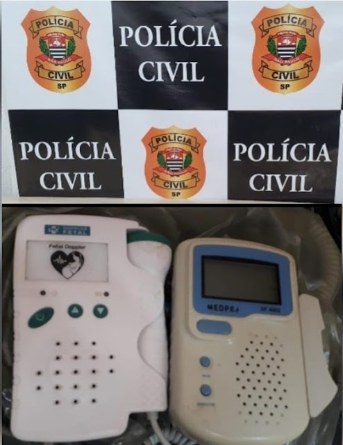 POLÍCIA CIVIL DE ADAMANTINA RECUPERA EQUIPAMENTOS HOSPITALARES FURTADOS