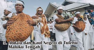 Abda'u dan Kaul Negeri di Tulehu Maluku Tengah merupakan salah satu tradisi unik di Indonesia saat merayakan Idul Adha